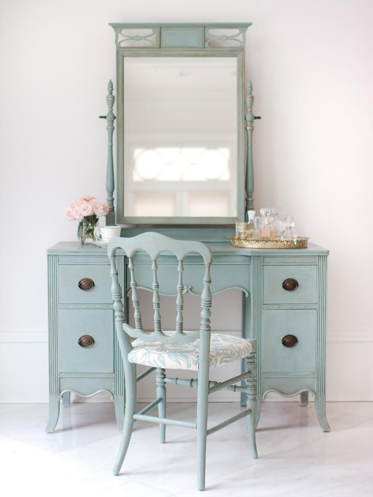 A fresh coat of paint will inject new life into old pieces.