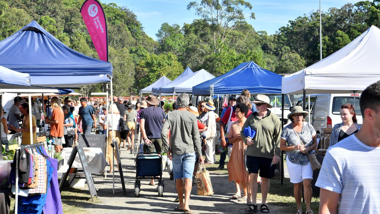 This morning's Yandina Country Markets.