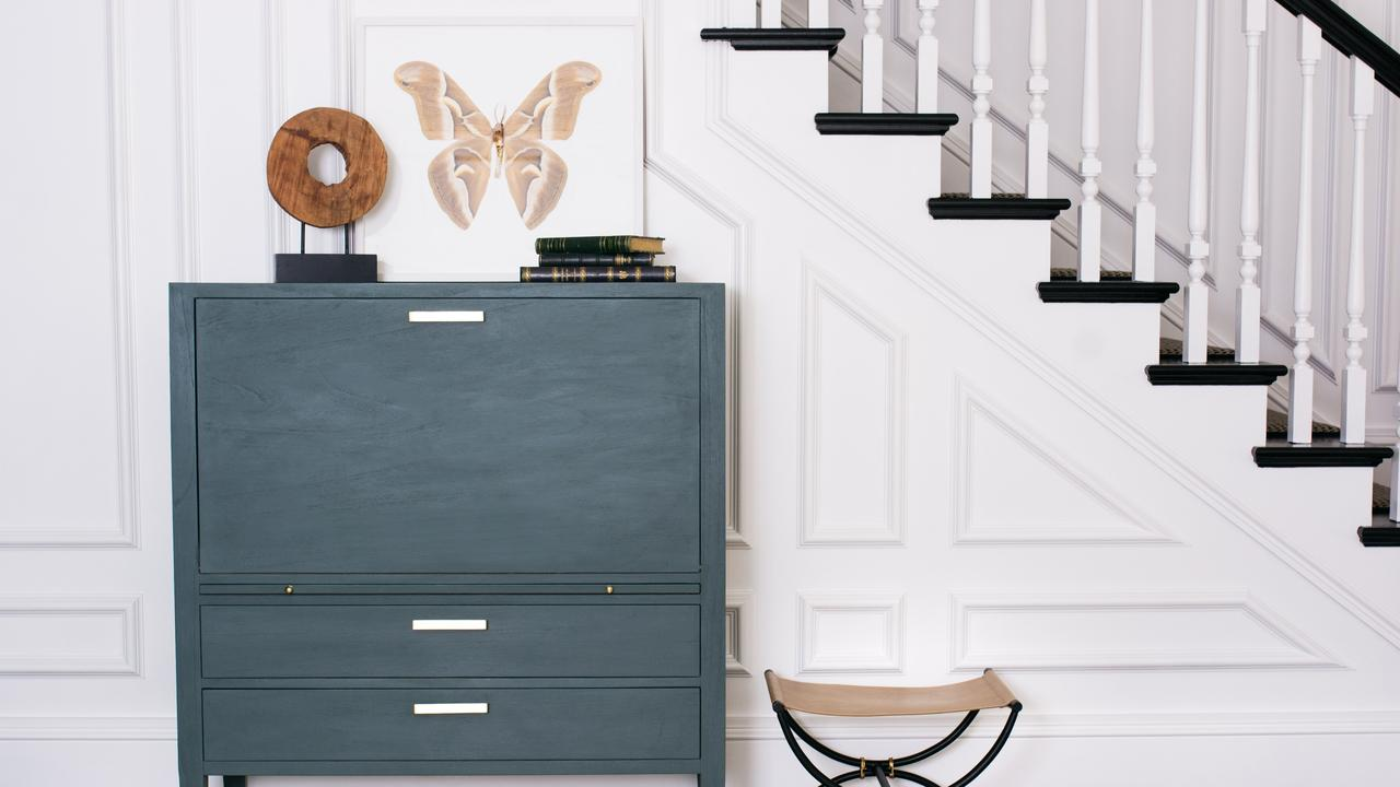 The celebrity decorator shares how to transform a piece of furniture from shabby to chic.