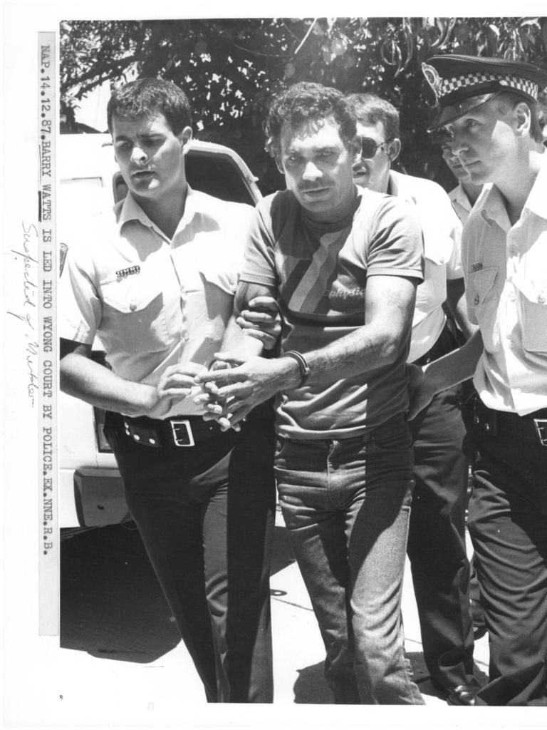 **This picture has a scanned reverse – see associated content at the bottom of the details window** Barrie Watts, charged with the rape and murder of Sian Kingi in 1987.