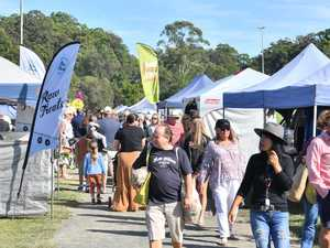 PHOTOS: Stalls, crowds return to Coast country market