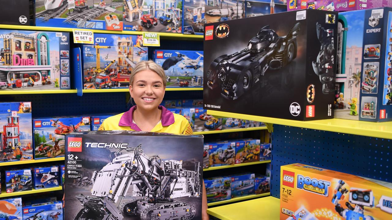 Meaghan Boyce from Toyworld says puzzles and Lego have been strong sellers during the self-isolation period.