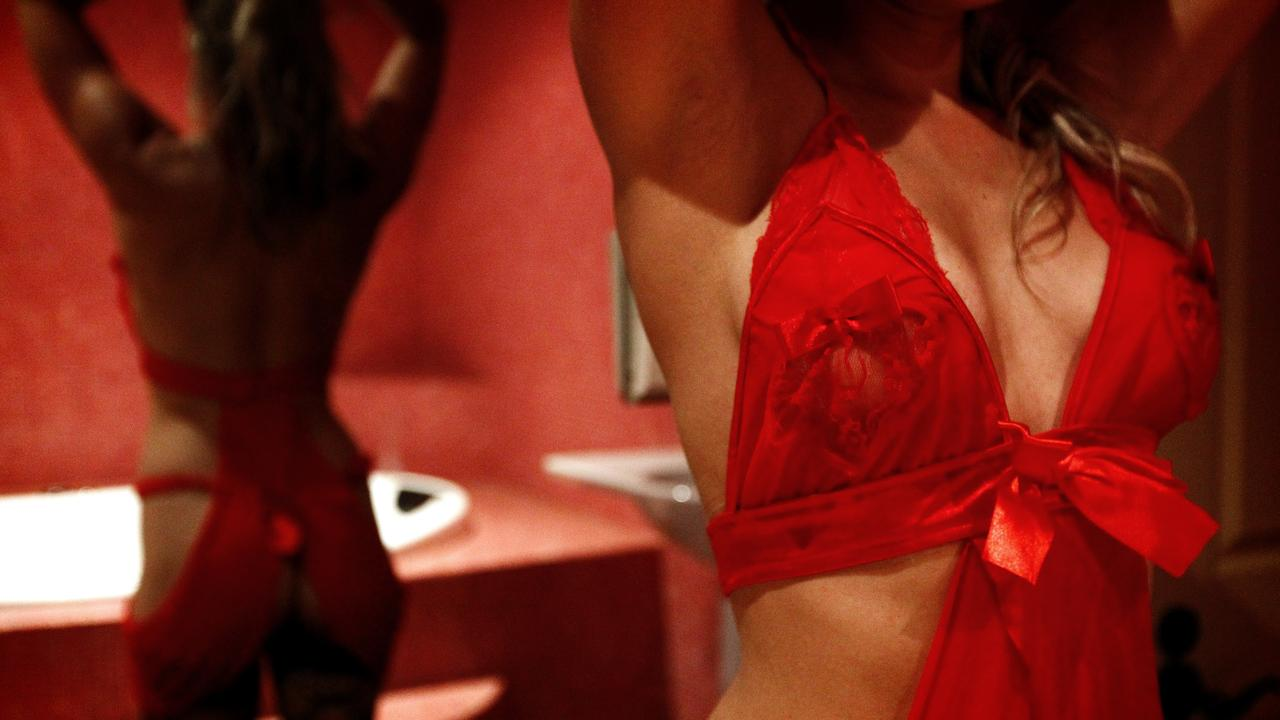 The sex work industry has been 'devastated' by COVID-19, say advocates. Picture: Daily Telegraph