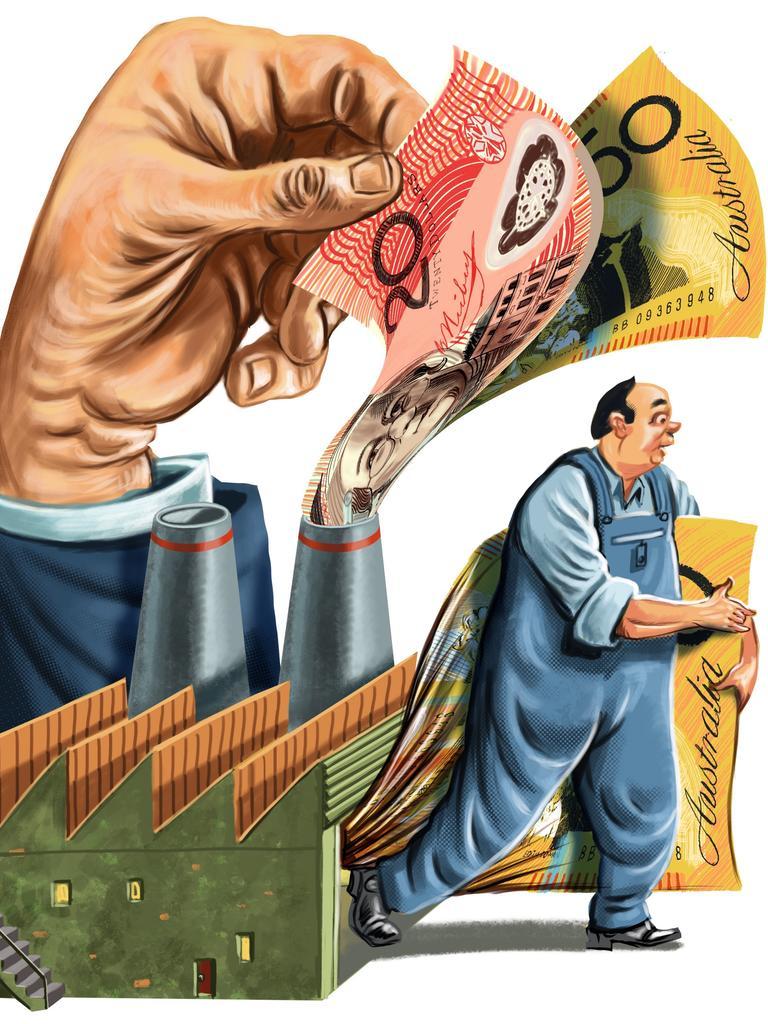 JobKeeper is a huge help for employees. Illustration: John Tiedemann