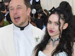 Musk and Grimes' crazy relationship