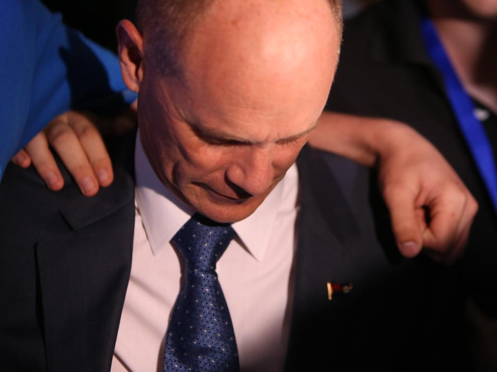 Campbell Newman after his election defeat