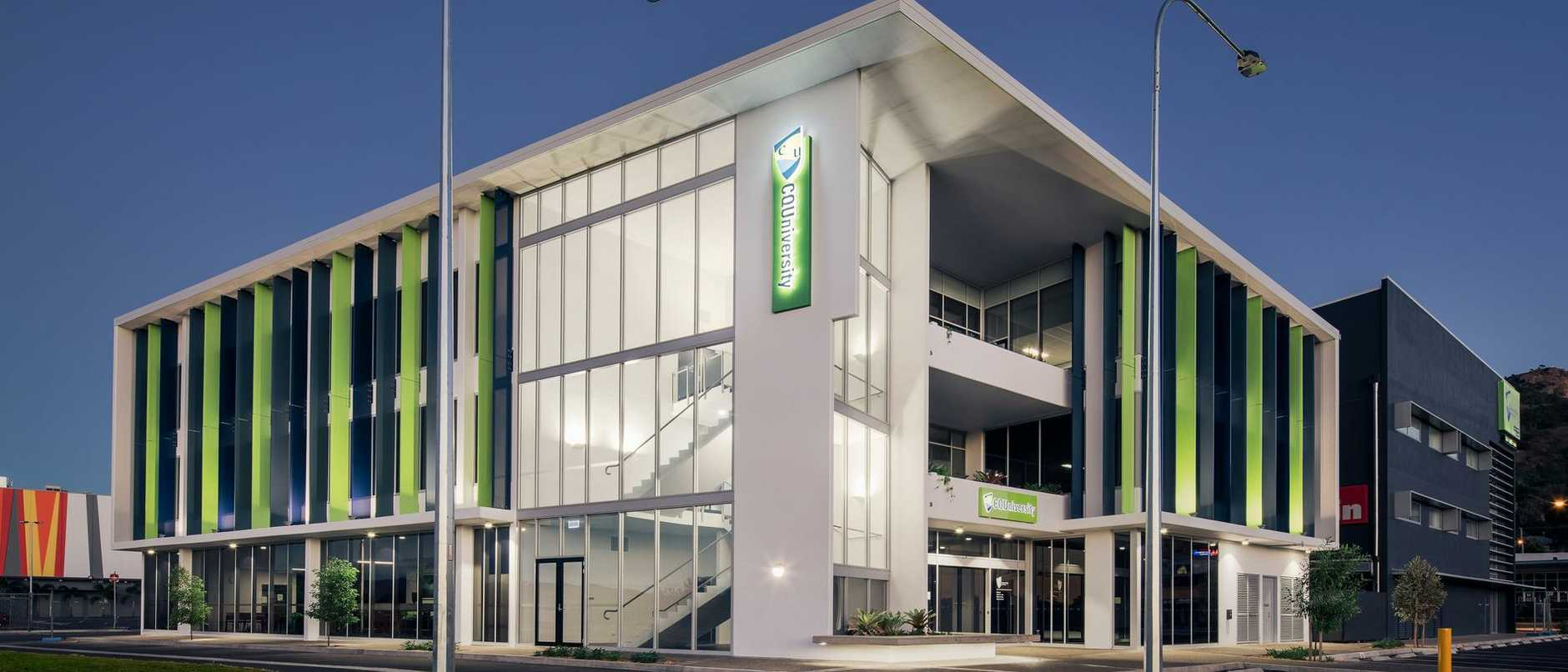 Supplied Editorial The newly completed purpose-built CQUniversity campus