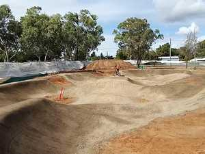 Testing at Gracemere pump track