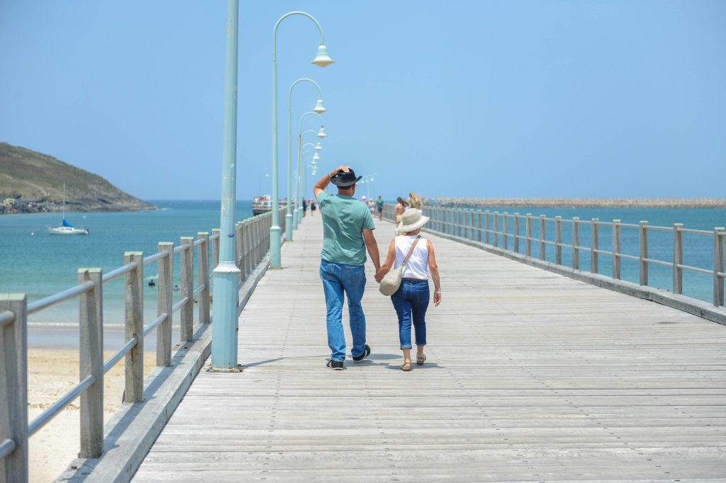 Image for sale: Summer at the Coffs Harbour Jetty.