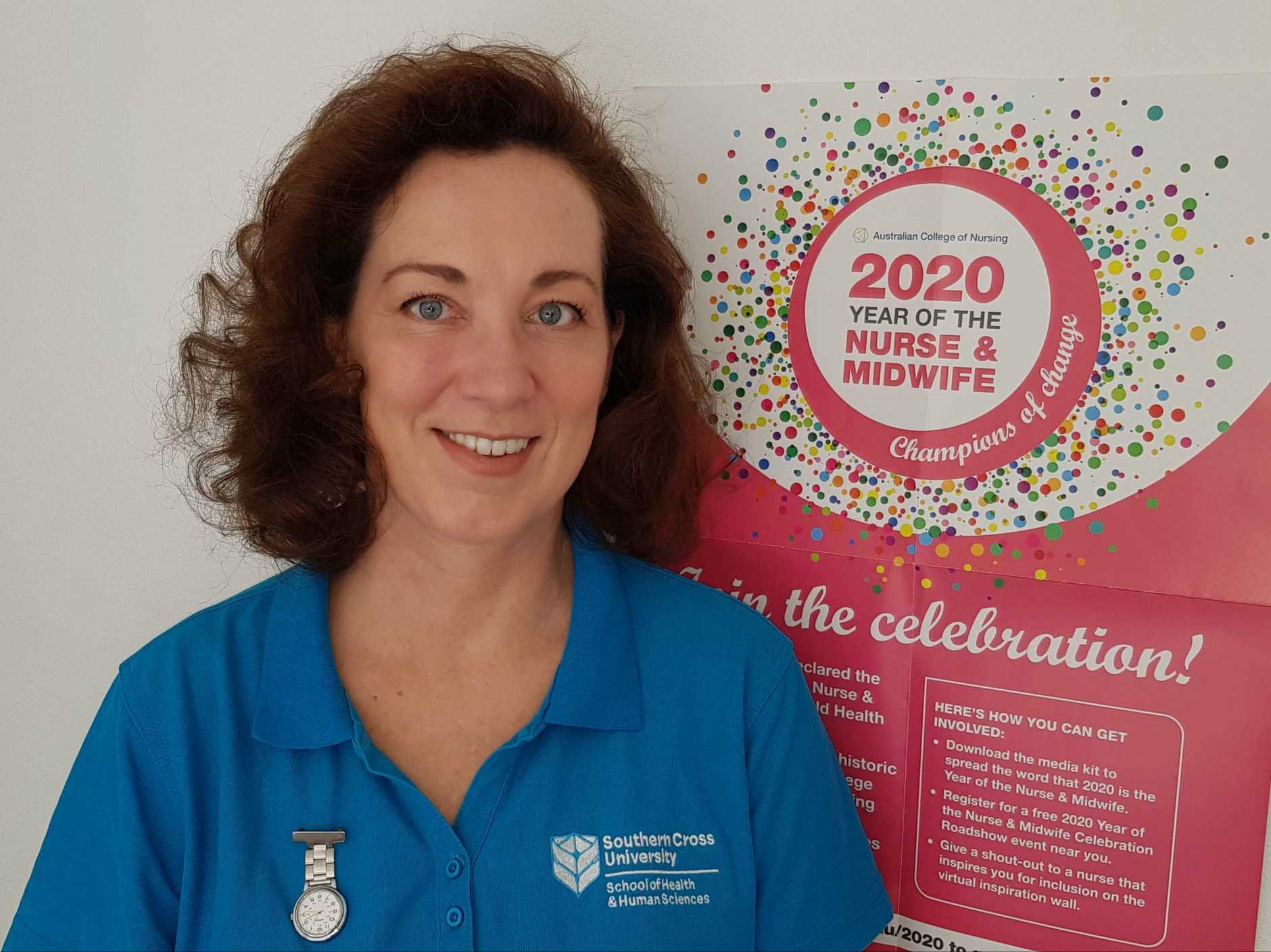 After a varied professional career Kaarin Goeldner has made the move into nursing.