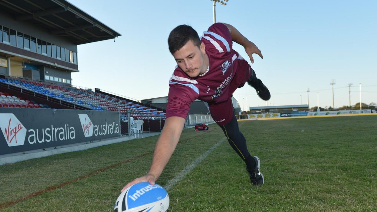 Former Mackay Cutters player Liam Taylor now plays for Wests Tigers in the Mackay A-Grade competition.