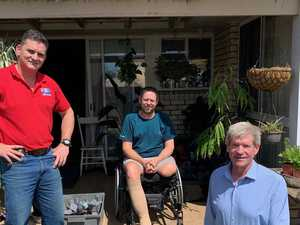 Fundraiser aims to help injured farmer back into his garden
