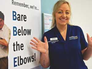 Nurses feel the love during virus pandemic