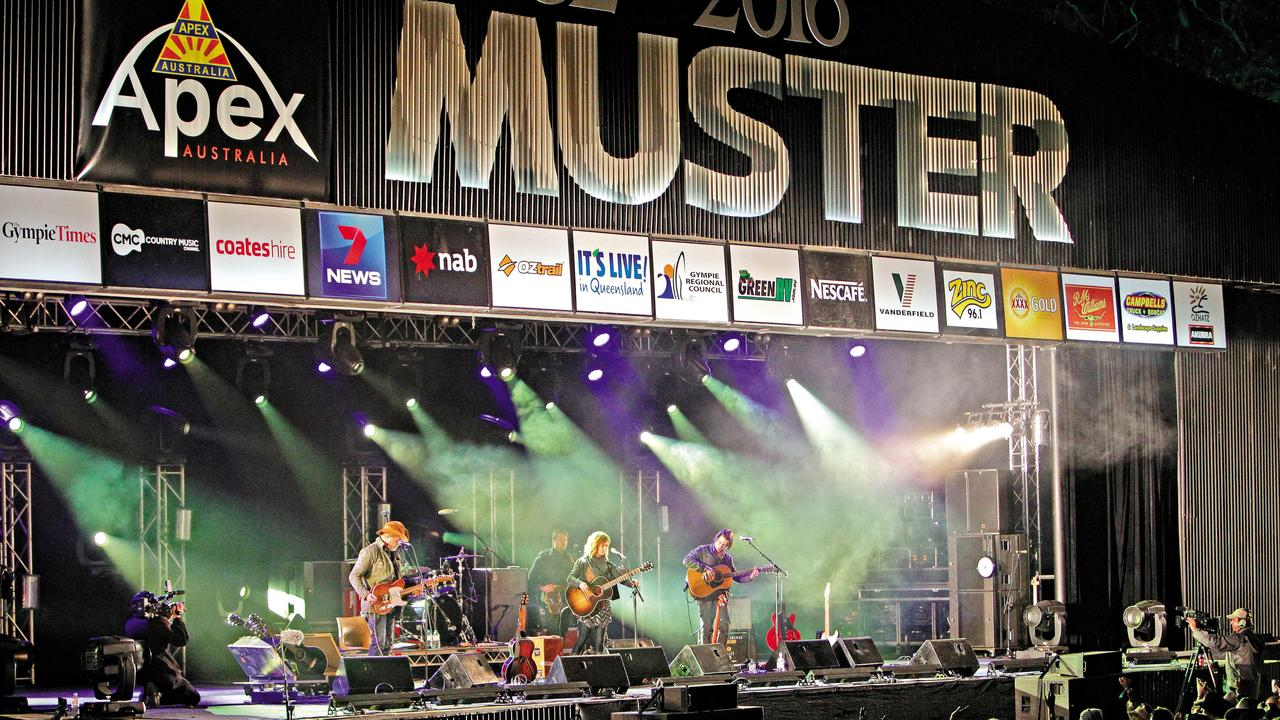 Gympie Music Muster 2016, Always a crowd favourite Kacey Chambers had the Muster patrons singing at the top of their lungs. Jason Dougherty/ Gympie Times