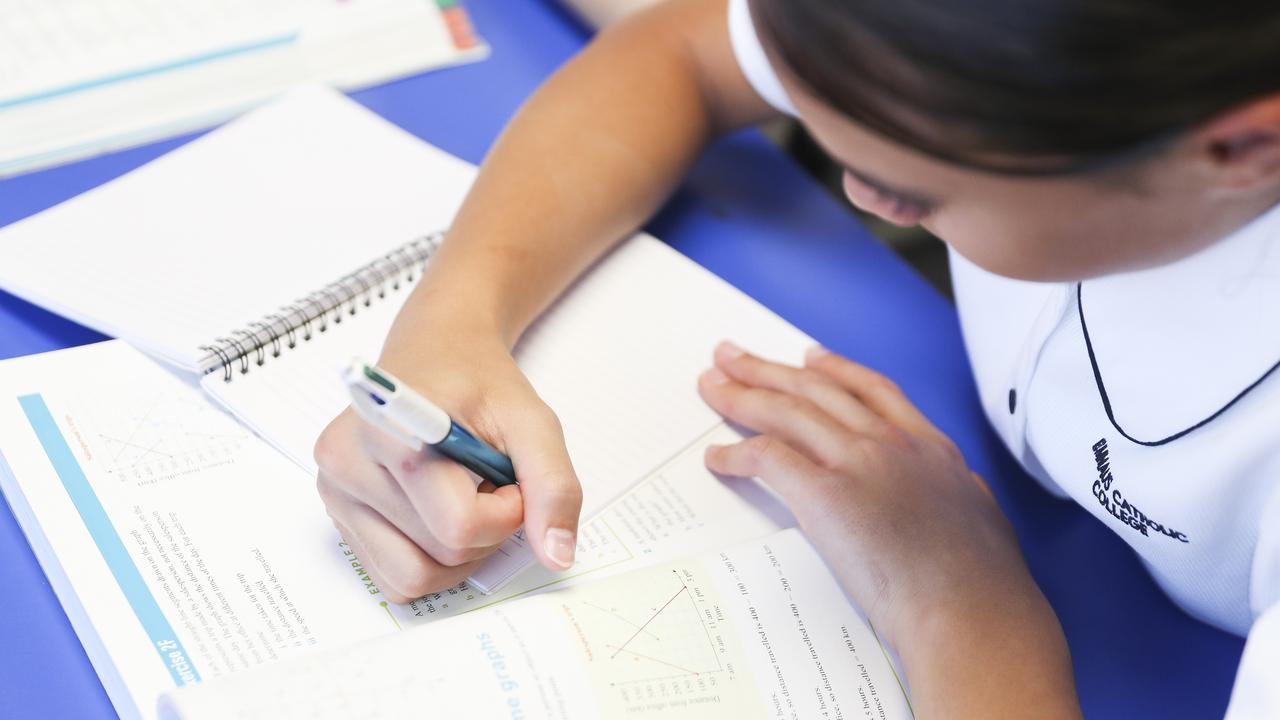 Students in NSW have begun returning to school for face-to-face teaching. Picture: Dylan Robinson