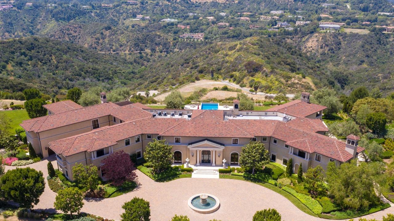 Meghan Markle and Prince Harry's current LA accommodation would cost them $379,000 a month should they decide to rent it. Picture: BACKGRID.