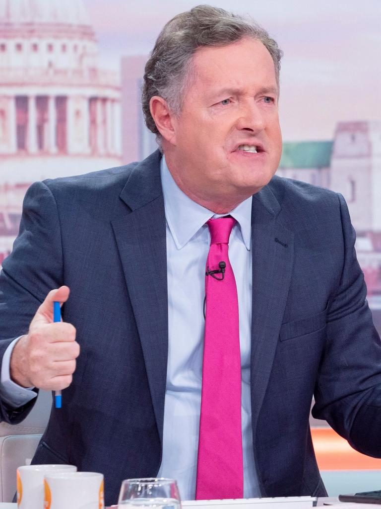Piers Morgan is one of the royal couple's most high-profile critics.