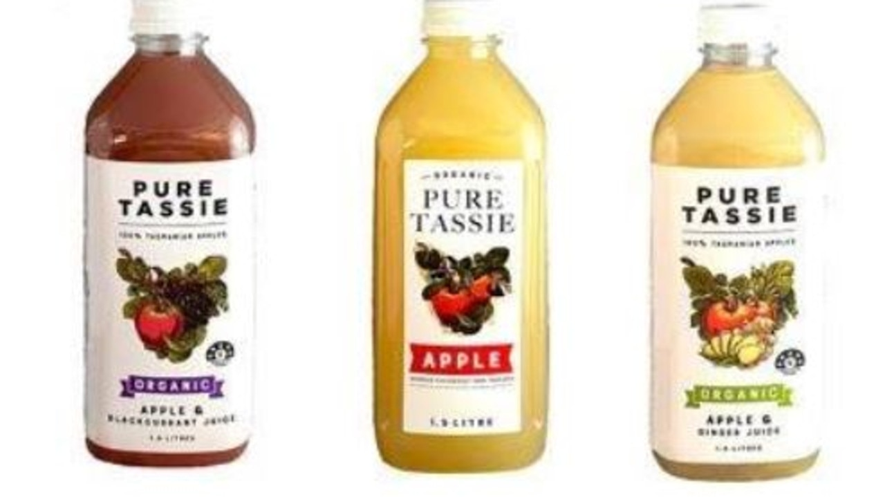 The juices are being recalled because of a microbial mycotoxin contamination.