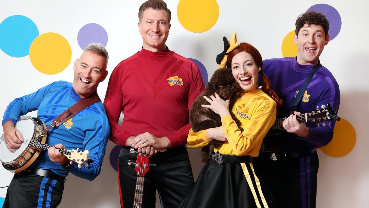 "Emma says The Wiggles have been thriving in isolation, given they're being required to do things ""more creatively"". Picture: Richard Dobson"
