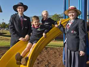 Young and old students return to school across Toowoomba