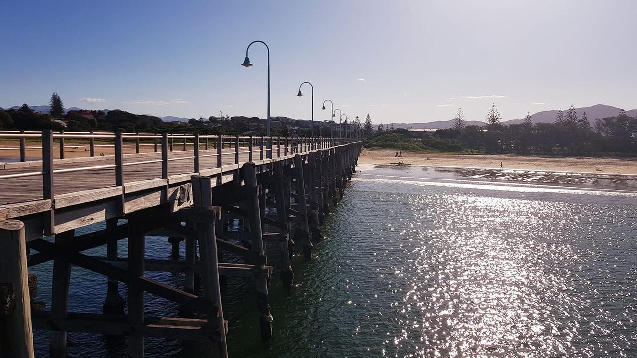 Coffs Harbour Jetty.