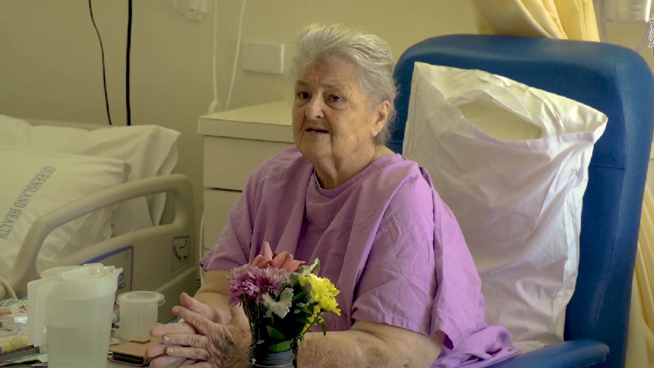 Lucky 80-year-old Beaudesert resident Erika Freingruber.