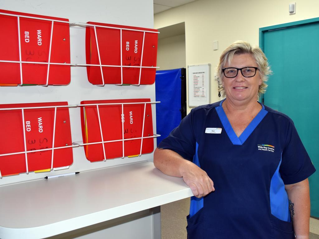 Toni Darlington, team leader of Hervey Bay Hospital's COVID ward, is one of the many health heroes in the region.