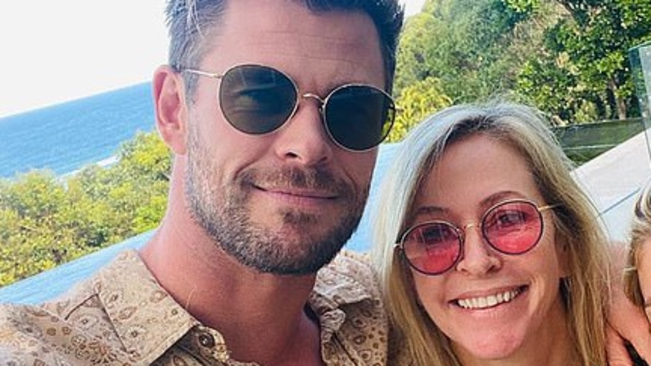 Chris Hemsworth shared a sweet Mother's Day tribute to his mum, Leonie, and wife, Elsa Pataky.