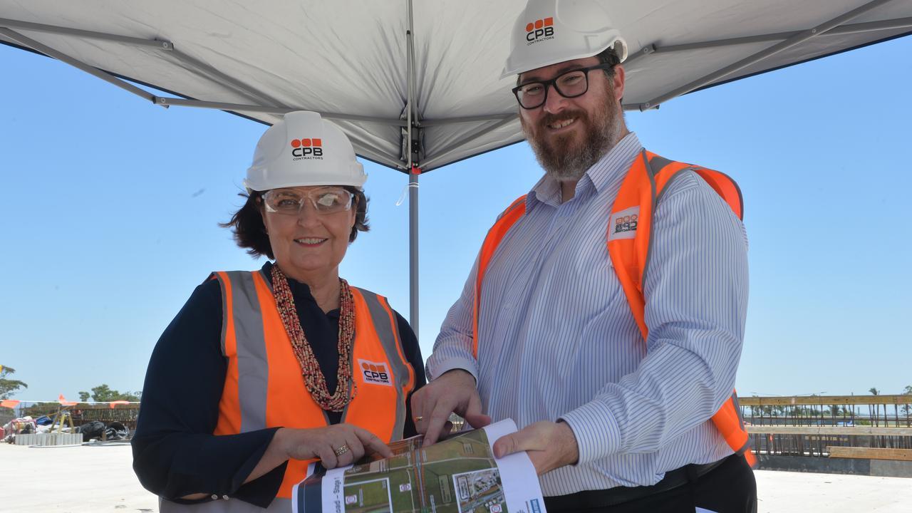 UPGRADE: Mackay MP Julieanne Gilbert and Dawson MP George Christensen.