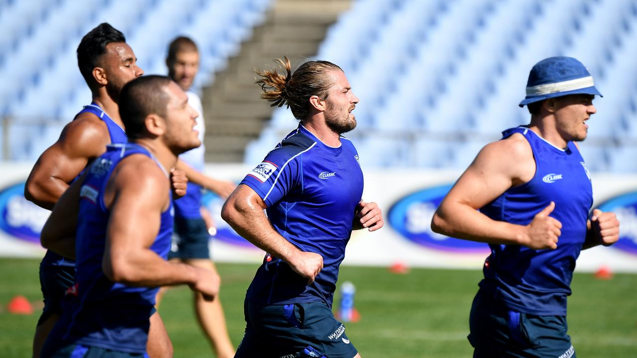Coach Dean Pay says Kieran Foran needs to complete more intensive training before he can return. Picture: AAP.