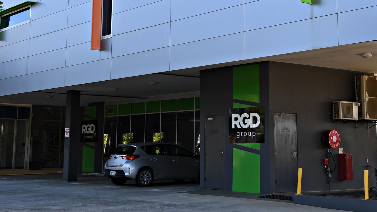 QUIET: RGD Group offices at Lake Kawana.
