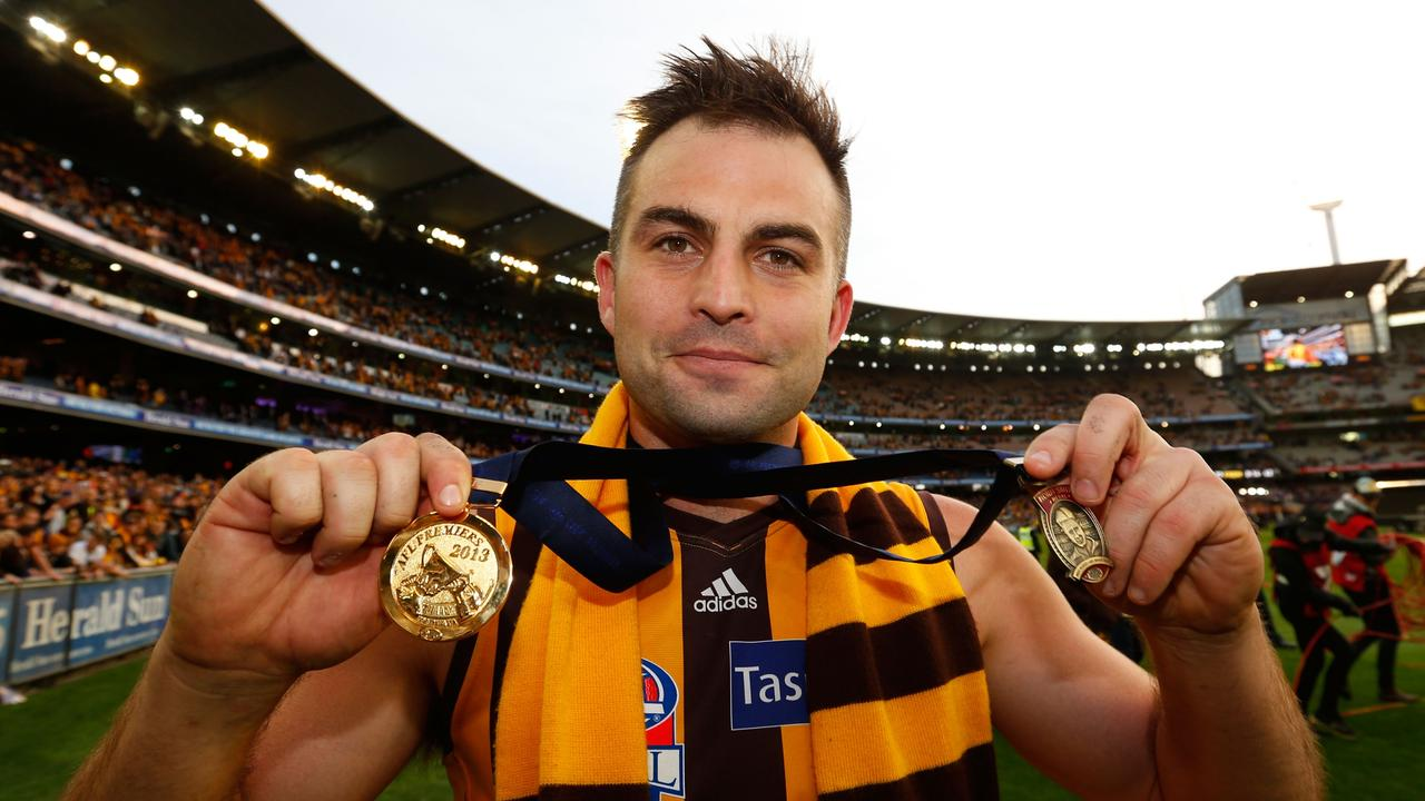 Recruit Brian Lake was the 2013 Norm Smith medallist. Picture: AFL Media