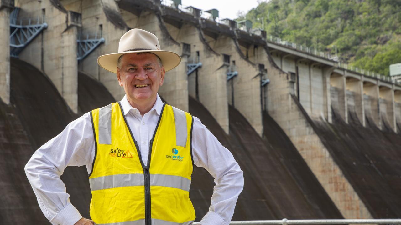 Seqwater CEO Neil Brennan at Somerset Dam.