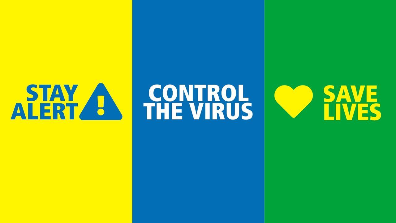 The UK's much criticised new coronavirus slogan