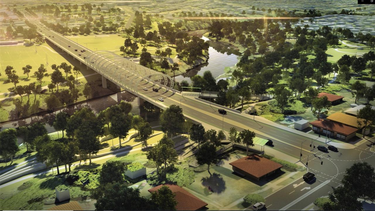 A second Bremer River crossing is seen as a critical piece of infrastructure for Ipswich.