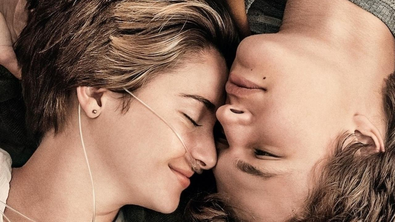 Shailene Woodley and Ansel Elgort star in The Fault In Our Stars. Picture: Supplied