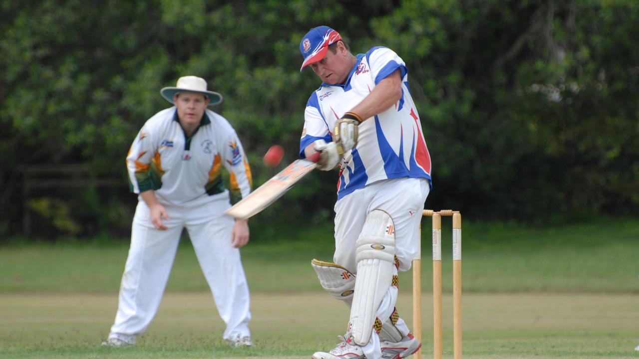 Russell Williams of Calliope, batting at the Boyne Oval, playing B Grade Grand final between Bits Gold and Calliope back in 2011. PICTURE: Marcus Thomas