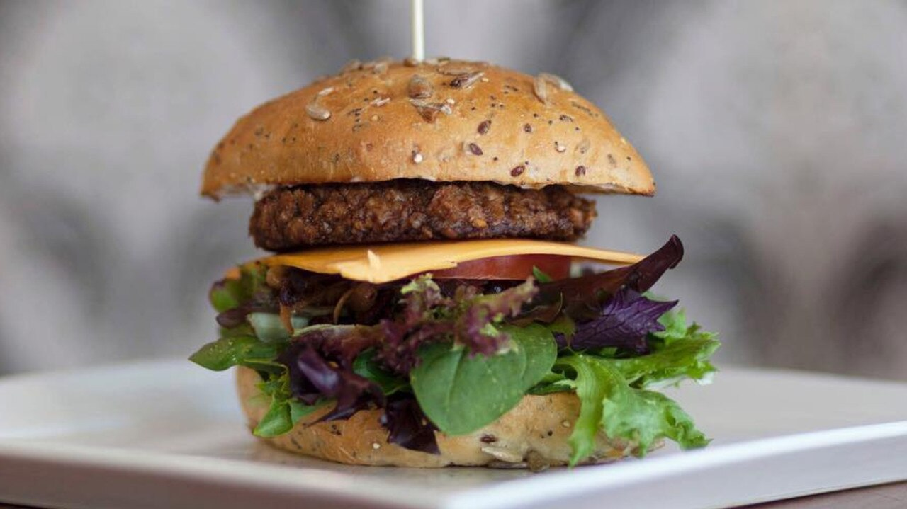 FILE: Vegan burger joined MooFree Burgers is closing their Sunshine Coast store. Photo: Supplied
