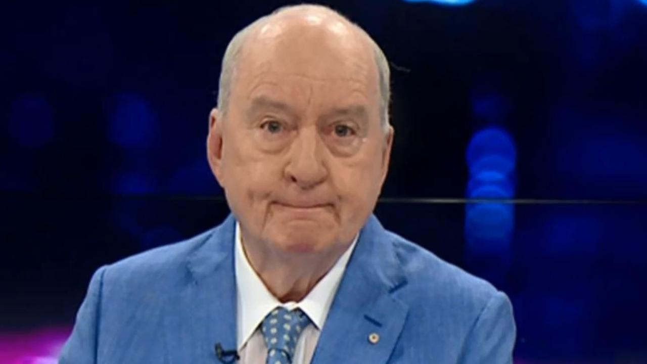 Alan Jones has announced he will retire from radio at the end of the month. Picture: Sky News
