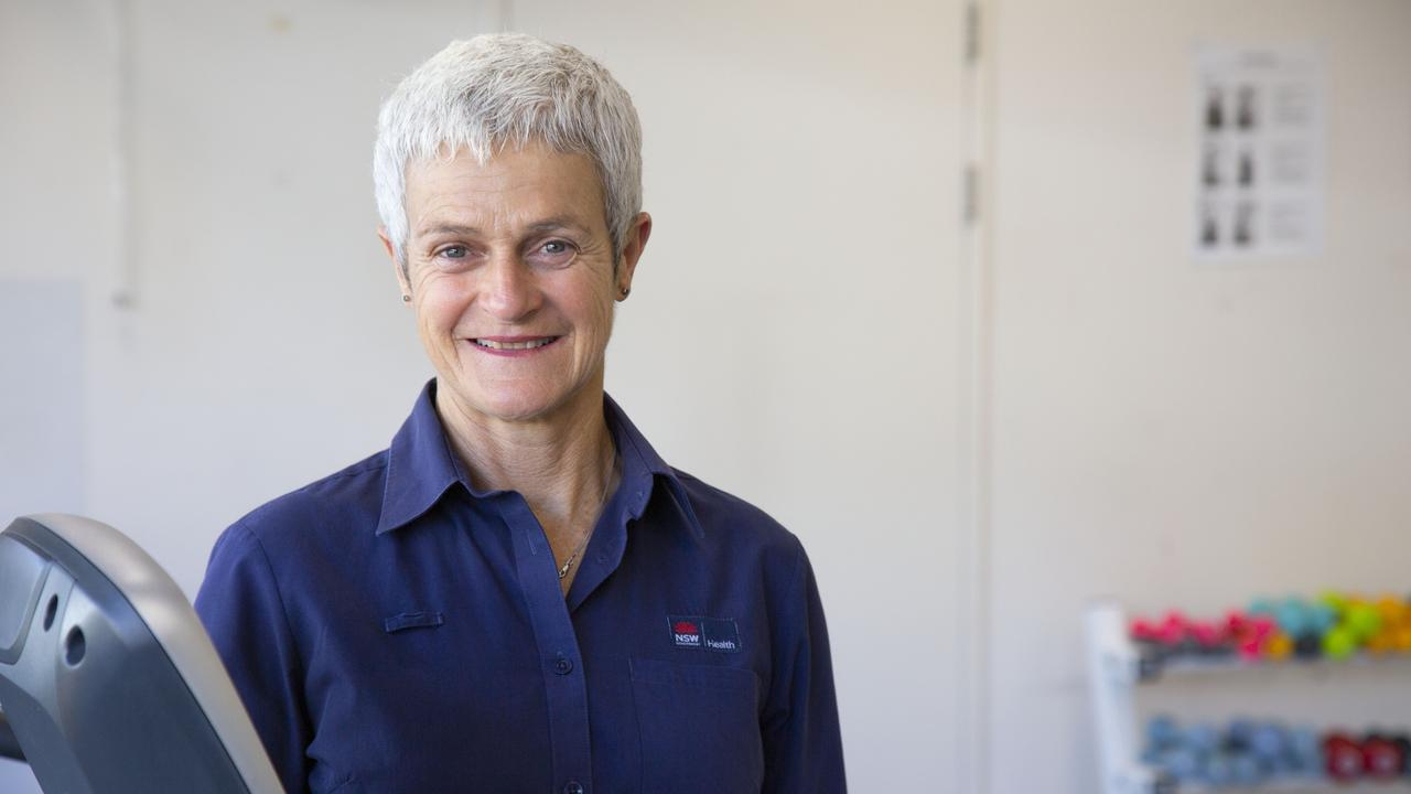 Coffs Harbour Cardiac Rehab Nurse Mel McCosker.