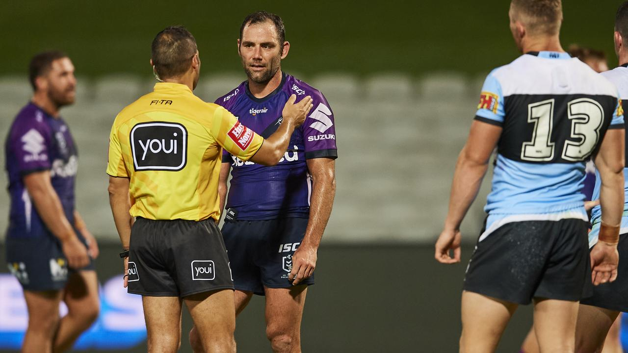The one ref change is going down well. Photo: Brett Hemmings/Getty Images