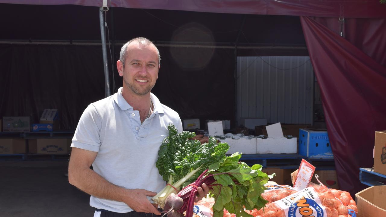 FLOW ON EFFECT: Alf Turrisi, owner of the Aratula Farmer's Markets said the easing of travel restrictions would help the roadside spot.