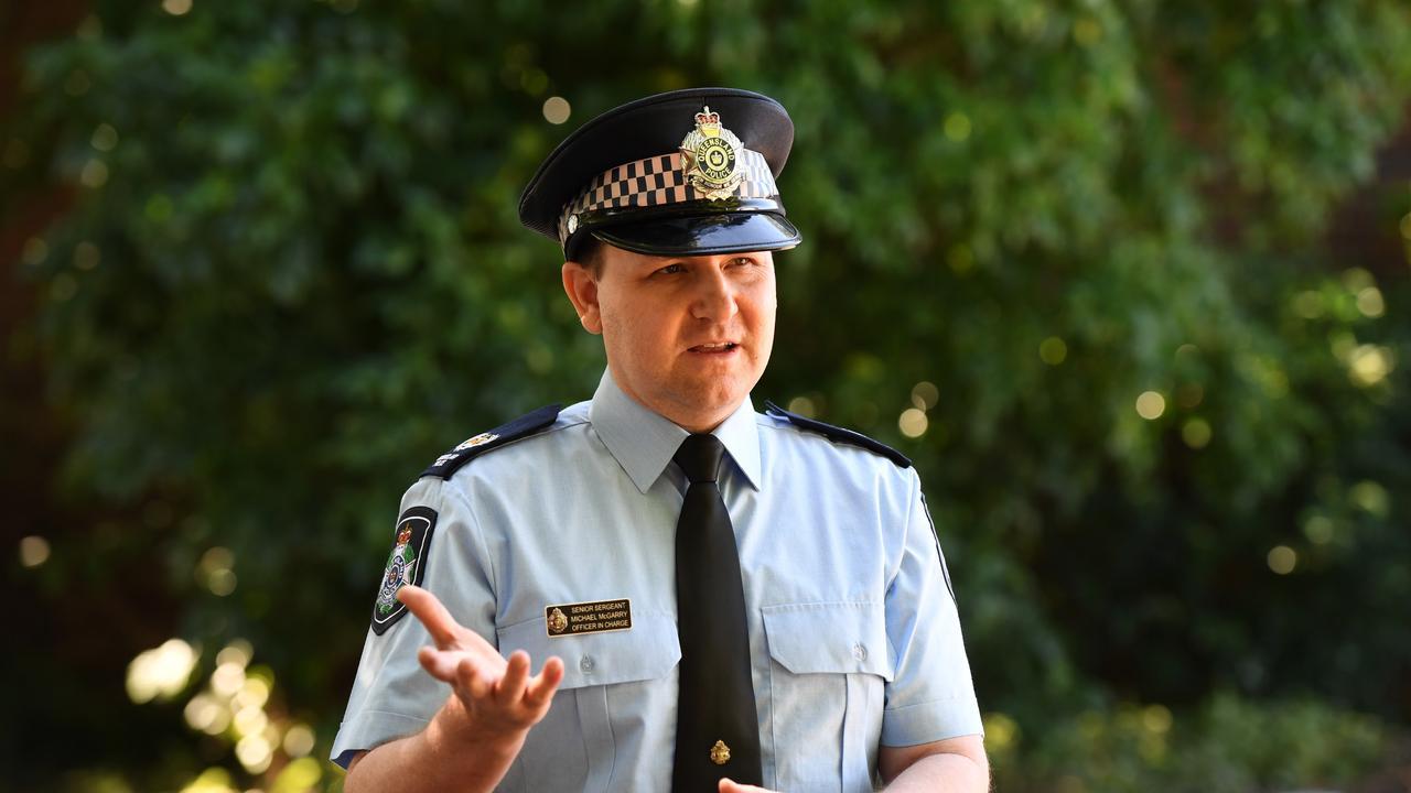 Senior Sergeant Michael McGarry. Photo: Mike Knott