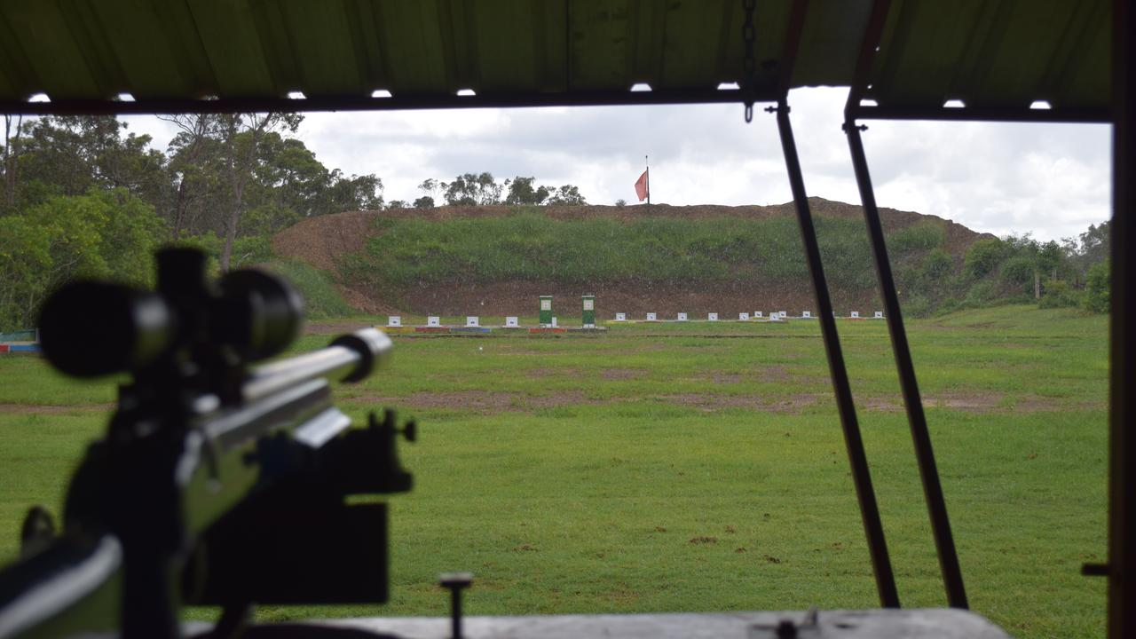 SHOTS FIRED: Maryborough MP wants coronavirus restrictions changed to allow gun shops to reopen. He says recreational shooters will benefit, as will gun clubs like the Maryborough Rifle and Pistol Club, pictured at the small bore rifle range.
