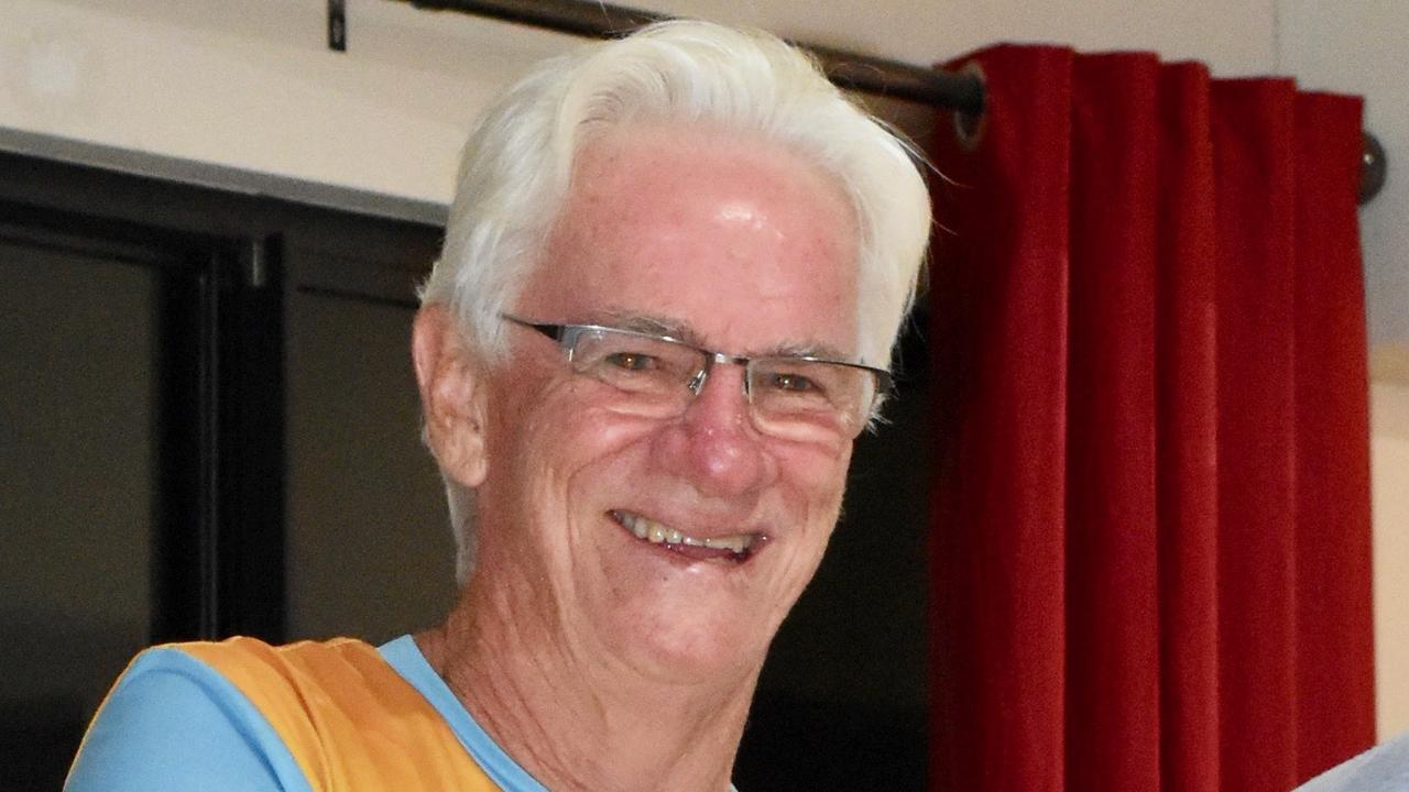 Whitsunday Running Club president Tim McQuoid-Mason