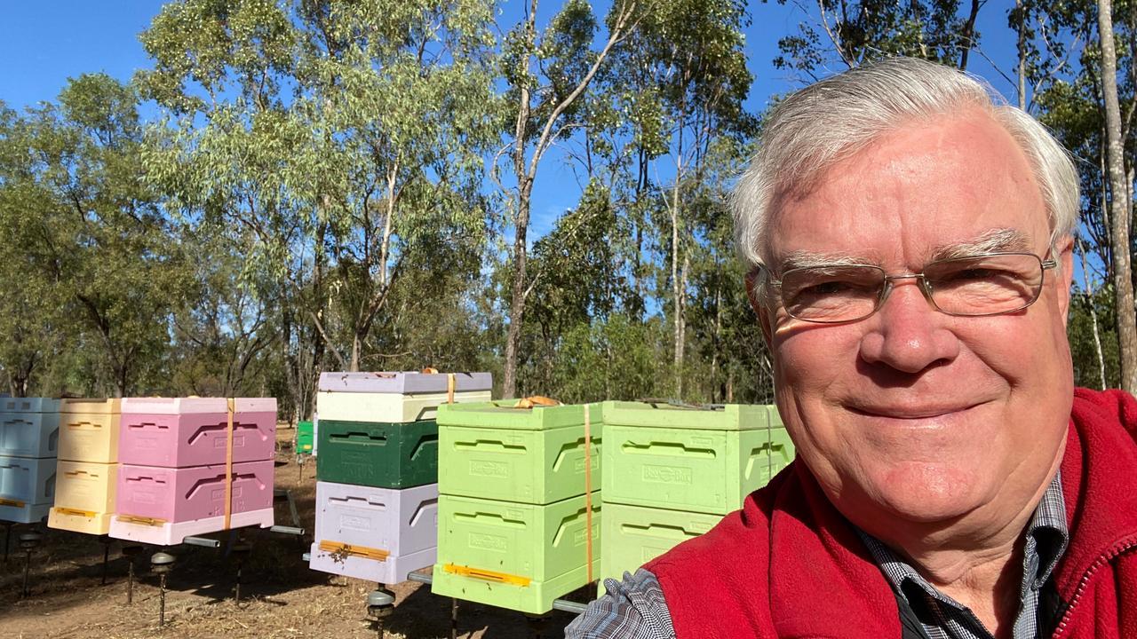 PRESERVATION: Clermont beekeeper Ken Murray.