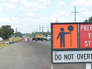Road upgrades at busy intersection