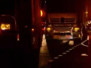 IN SHOCK: Woman witnessed horror crash that killed partner