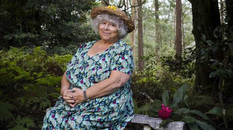 Miriam Margolyes hosts the new TV series Miriam Margolyes Almost Australian.