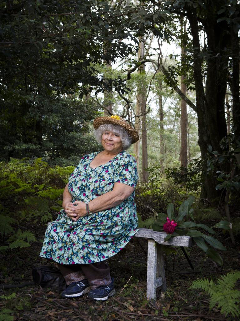 Miriam Margolyes hosts the new TV series Miriam Margolyes Almost Australian.